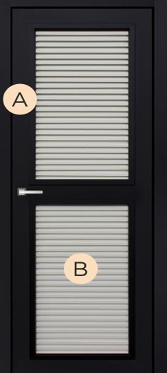 Жалюзийные двери GL